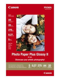 Canon PP-201 A4 275gsm Plus Glossy Photo Paper (20 Sheets)