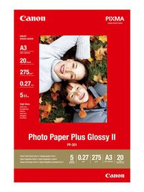 Canon PP-201 A3 275gsm Plus Glossy Photo Paper (20 Sheets)