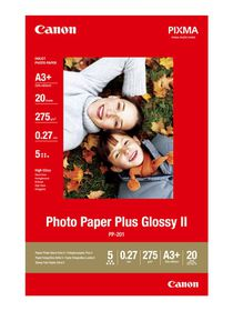 Canon PP-201 A3+ 275gsm Plus Glossy Photo Paper (20 Sheets)