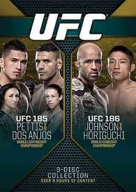Ufc 185/186 - (Region 1 Import DVD)