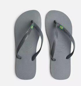Havaianas Unisex Brazil Flip Flop - Steel Grey