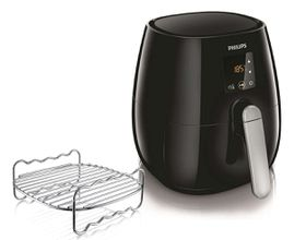 Philips - Viva Digital Air Fryer - Black