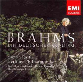 Rattle Simon - German Requiem (CD)