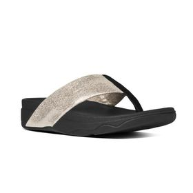 FitFlop Surfa Shimmer - Pale Gold