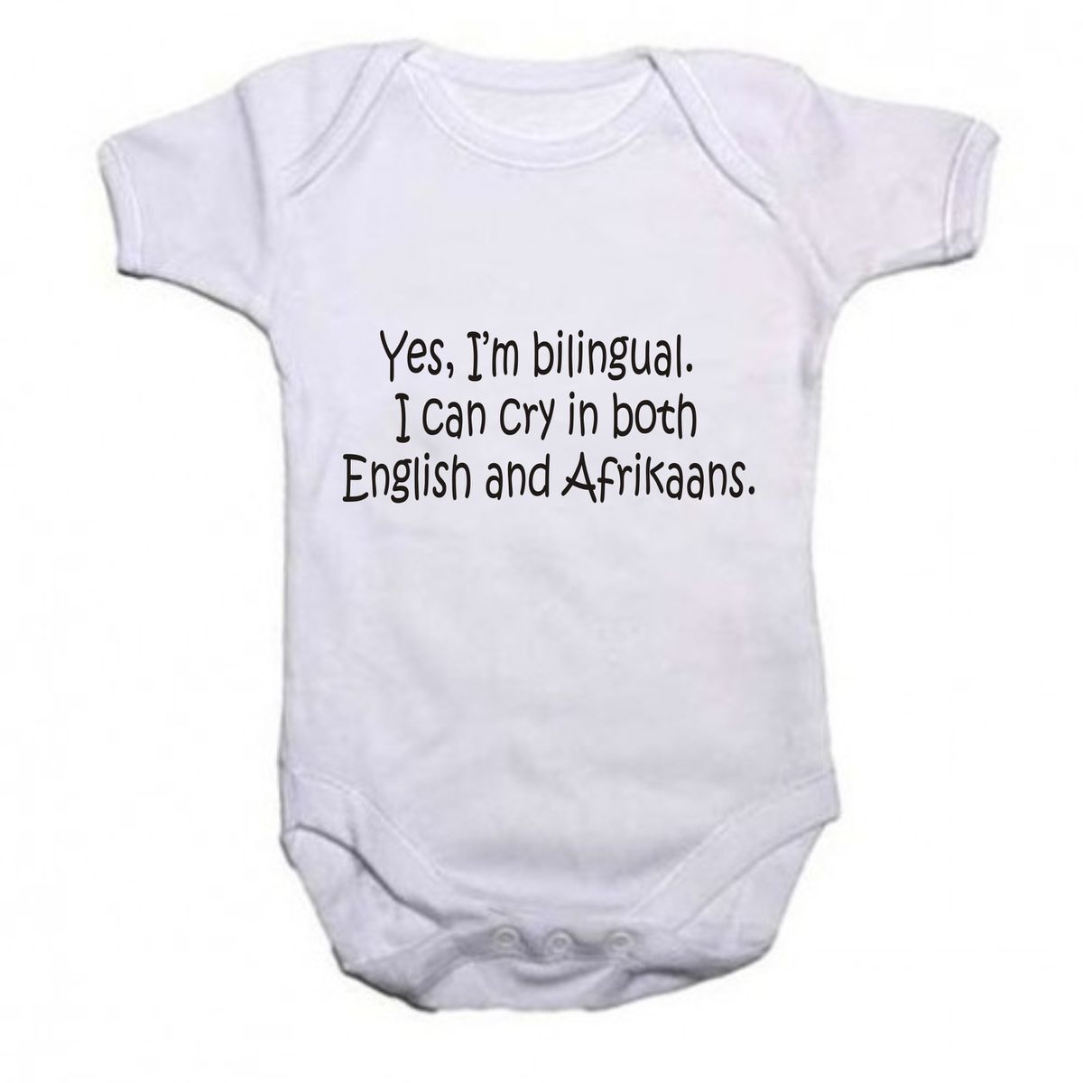 Noveltees cry in english and afrikaans baby grow buy online in noveltees cry in english and afrikaans baby grow loading zoom fandeluxe Choice Image