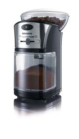 Severin - Coffee Grinder - Black and Silver