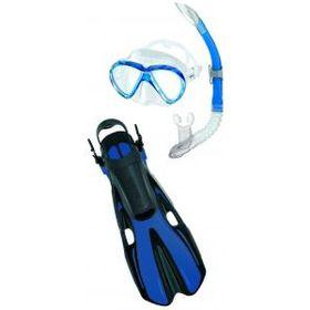 Mares Aquazone Set - Volo One Marea - Blue - Small