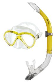 Mares Aquazone Set - Marea - Yellow