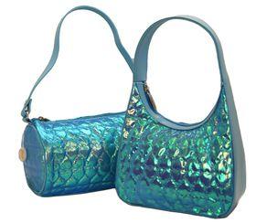 Fino Girls Sweet Heart Bling Puffy Bags Duo 5509+5526 - Blue
