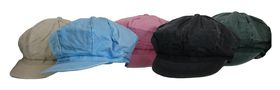 Fino cotton wash newsboy cap 5 pcs clearance pack-SKC133