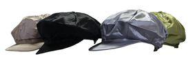"Fino Ladies Satin Newsboy cap 4 Piece clearance pack SKC-134"""