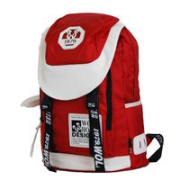 22L Wolf Horse Laptop Backpack K20 - Red & White