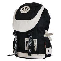 22L Wolf Horse Laptop Backpack K20 - Black & White