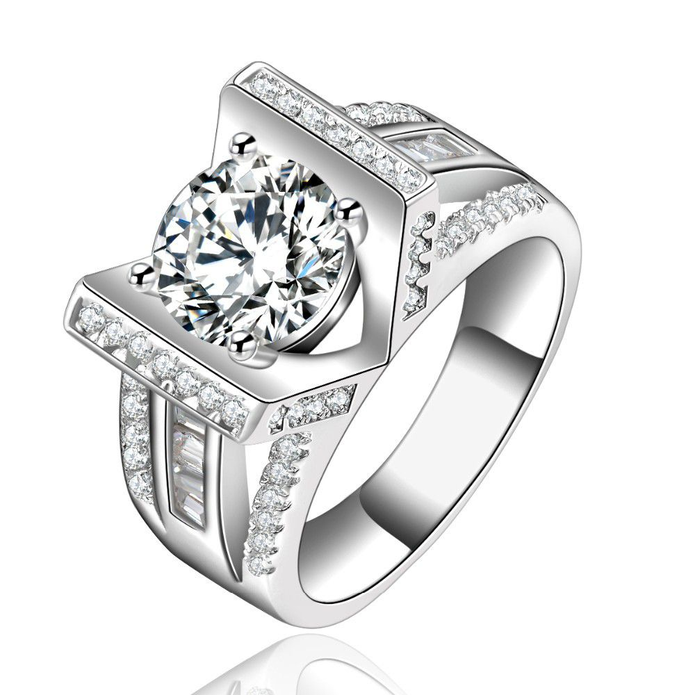3 Carat Simulated Diamond Ring