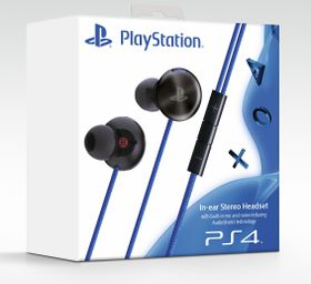 Official Sony Noise Cancelling In-Ear Headset (PS4)