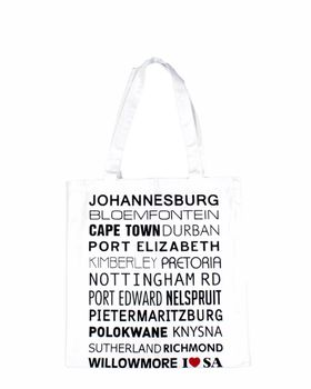 dishy designs I love SA Bag