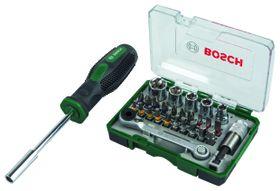 Bosch - 27 Piece Mini-Ratchet Set & Hand Screwdriver