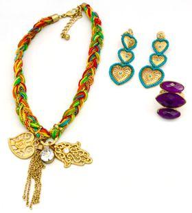 Fred Tsuya Multi Hamsa Jewellery Set