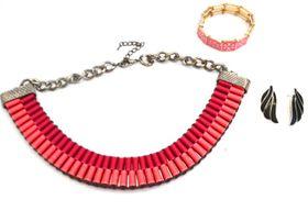 Fred Tsuya Statement Jewellery Set
