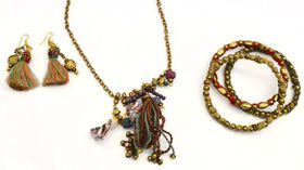 Fred Tsuya Boho Chic Jewellery Set