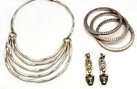 Fred Tsuya Sculpture Jewellery Set