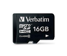 Verbatim 16GB Premium 300x Micro SD Card