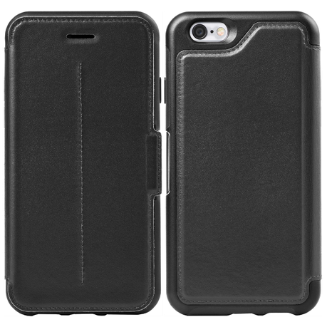 huge selection of 505d7 bd9ad Otterbox Strada for iPhone 6/6s - Black Leather (New Minimalism)