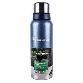 Kaufmann - 1.2 Litre Stainless Steel Flask - Blue
