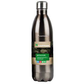 Kaufmann Stainless Steel Flask Bottle - Grey