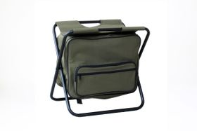 Kaufmann - Fisherman Chair with Cooler - Green