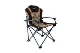 Kaufmann - Outdoor King Sport Chair - Brown and Khaki