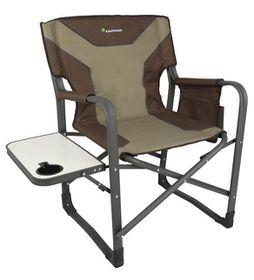 Kaufmann Chair - Steel Directors Flat Frame - Khaki
