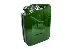 Kaufmann - Green Petrol Metal Jerry Can - 20 Litre