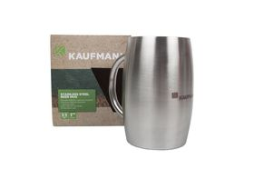 Kaufmann - Stainless Steel Beer Mug - 375ml
