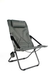 Kaufmann - Outdoor Luxury Recliner Chair - Grey