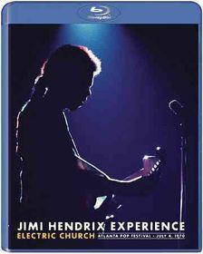 Jimi Hendrix:Electric Church - (Region A Import Blu-ray Disc)
