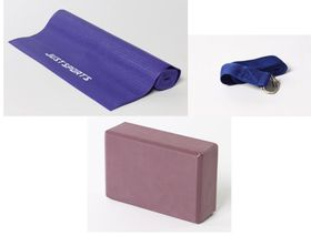 Justsports Yoga Set Purple