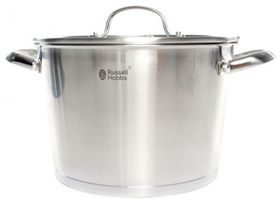 Russell Hobbs - Nostalgia Finesse Stainless Steel Casserole With Lid - 24cm