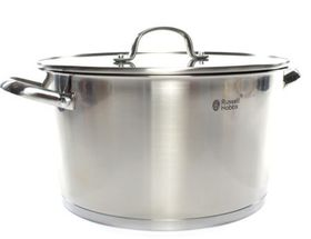 Russell Hobbs - Nostalgia Finesse Stainless Steel Casserole With Lid - 28cm