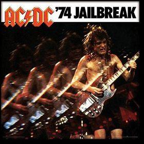 AC/DC - 74 Jailbreak Framed Album Cover Print