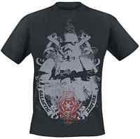 Star Wars Galactic Empire Men's T-Shirt Black (Size: XL - Parallel Import)