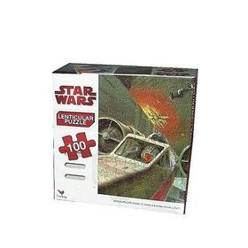 Star Wars Starfighter Lenticular Puzzle - 100 Pieces