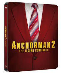 Anchorman 2: The Legend Continues - Steelbook (Blu-ray)