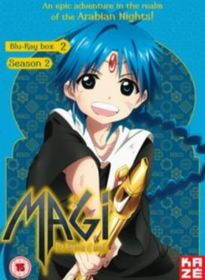 Magi - The Kingdom of Magic: Season 2 - Part 2 (Blu-ray)