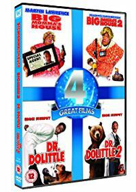 Big Mommas House 1 and 2 / Dr Dolittle 1 and 2 (DVD)