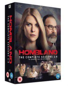 Homeland: Series 1-4 (DVD)