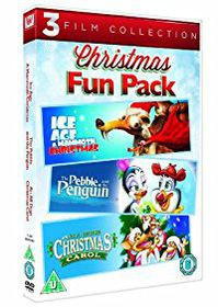 3 Film Christmas Fun Pack (DVD)