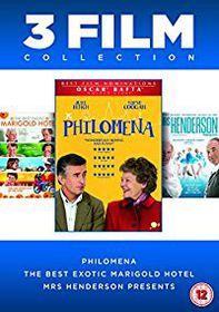 Philomena / Best Exotic Marigold Hotel / Mrs. Henderson Pres (DVD)