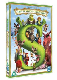Shrek 1-4 Collection (DVD)