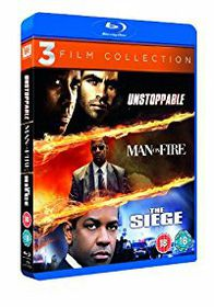 Denzel Washington: Unstoppable / Man On Fire / The Siege (Blu-ray)